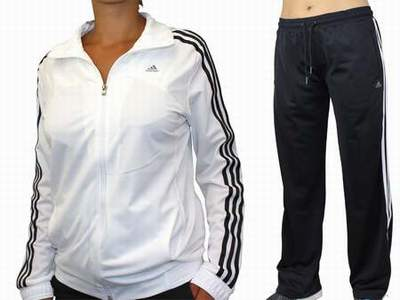 ... survetement adidas femme noir et argent e2f4dd53a96